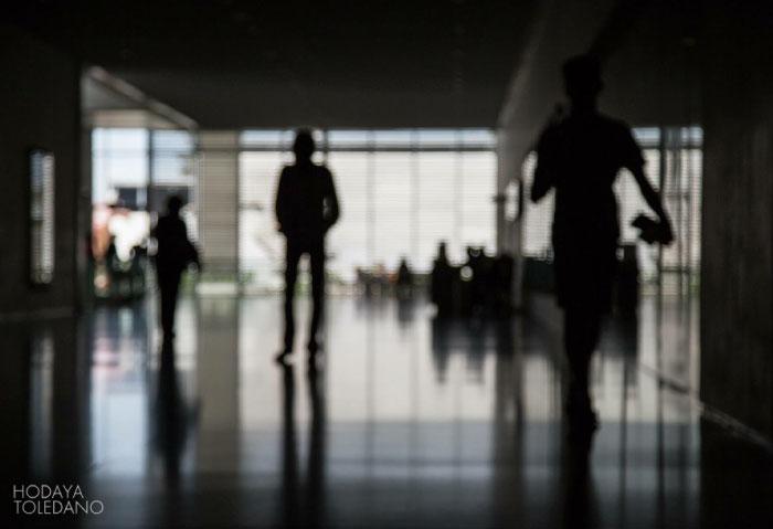 האדם הממהר לאנשהו // לאן מכאן, הודיה טולידאנו, 2013