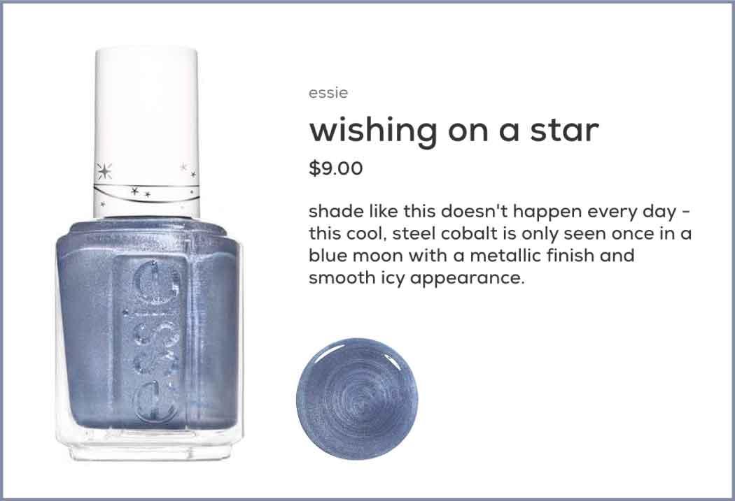 כתיבה יוצרת ביומיום עצמו, טקסטים שנכונים לקהל יוצרים אהדה וקשר, לפני קנייה, על המוצר wishing on a star של essie